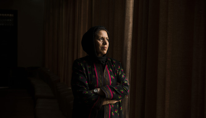 Judge Homa Alizoy. Photo by Kiana Hayeri for De Correspondent