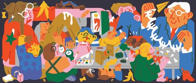 Illustraties: Megan de Vos (voor De Correspondent)