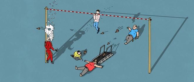 Illustratie: Dion Soethoudt (voor De Correspondent)