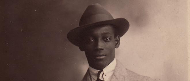 Anton de Kom, 1922. Foto: Familiearchief