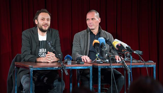 Lancering van de Duitse partij van DiEM25. Foto: Bernd von Jutrczenka / ANP