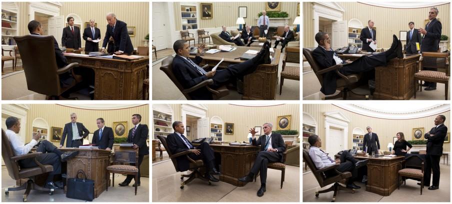 2. Het kantoor (deel 2). Foto's: Pete Souza/the White House