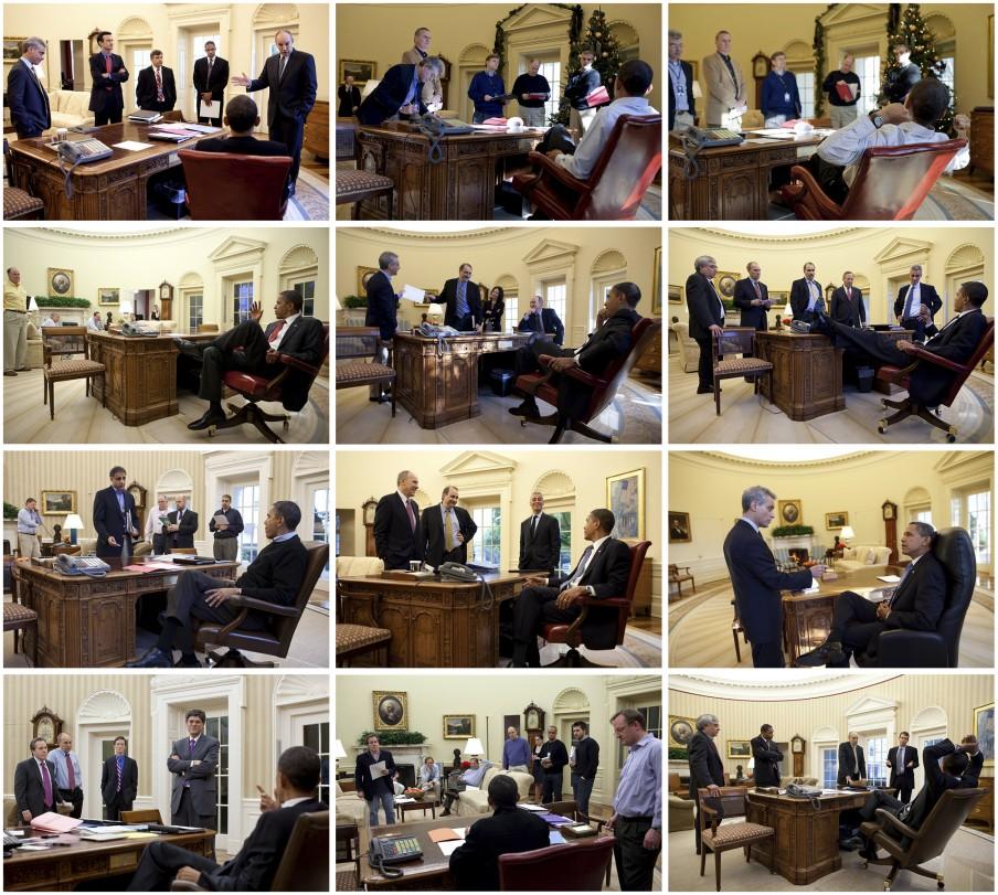 2. Het kantoor (deel 3). Foto's: Pete Souza/the White House
