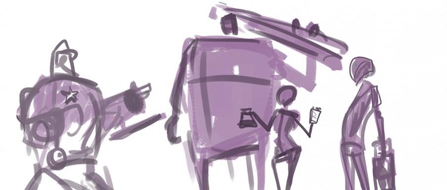Stap 1. Illustratie: Lennart Verhoeff (voor De Correspondent)