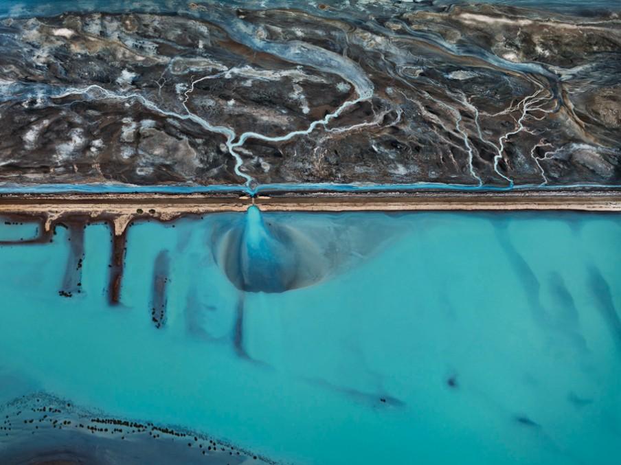 Cerro Prieto Geothermal Power Station, Baja, Mexico, 2012. Foto: Edward Burtynsky