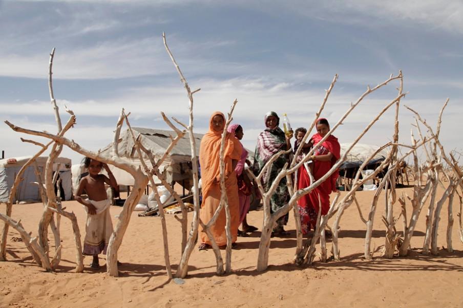 Meer dan 68.000 Malinezen leven inmiddels in M'Bera. Foto: Andreas Stahl