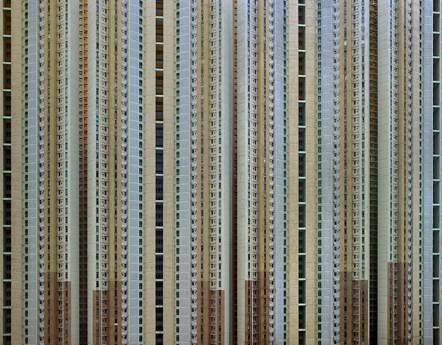 Architecture of Density # 111. Foto: Michael Wolf / courtesy Galerie Wouter van Leeuwen