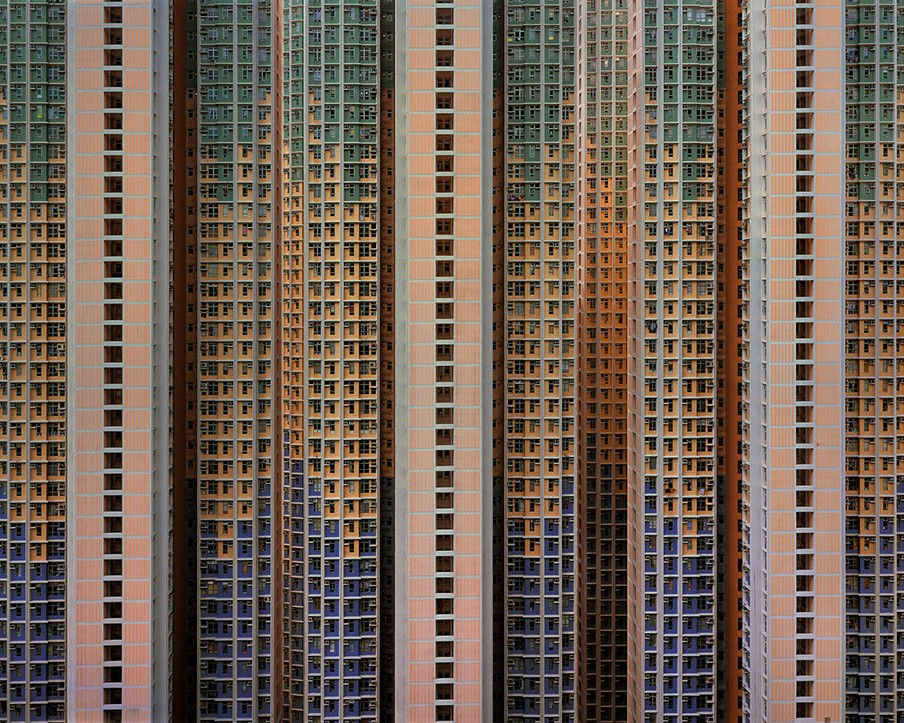 Architecture of Density # 91. Foto: Michael Wolf / courtesy Galerie Wouter van Leeuwen