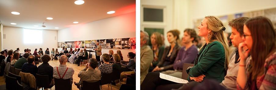 De vragensessie over Mali. Rechts aan het woord: Mali-kenner Kees Homan van het Clingendael Instituut. Foto's: Janus van den Eijnden