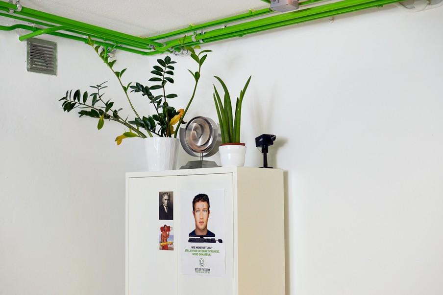 Op het kantoor van Bits of Freedom. Foto: Lukas Göbel