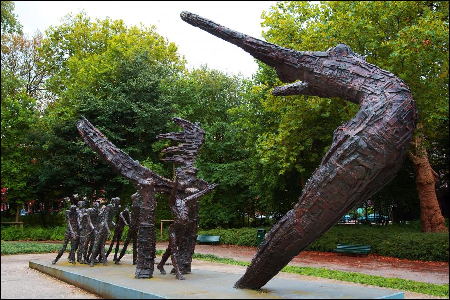 Nationaal monument slavernij verleden in het Oosterpark, Amsterdam. Foto: ANP/ Robin Utrecht