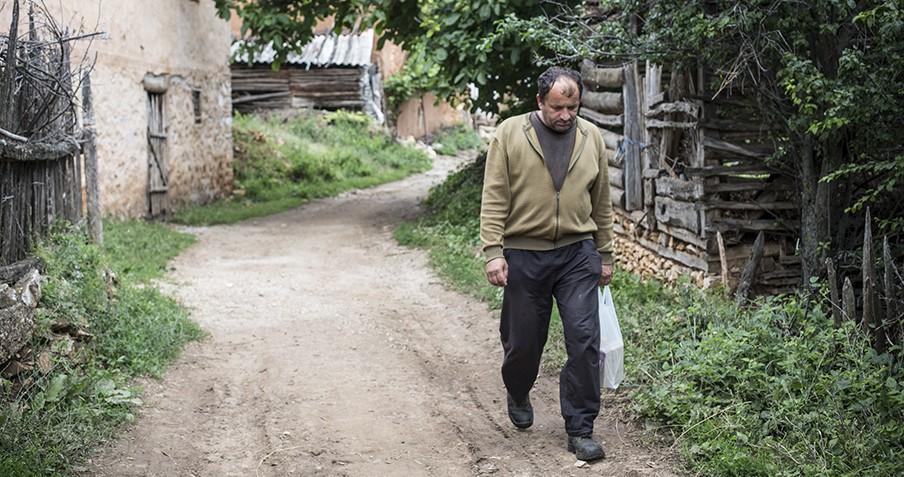 Het dorpsleven in Brest, de kleinste gemeente van Makedonski Brod. Foto Jodi Hilton.