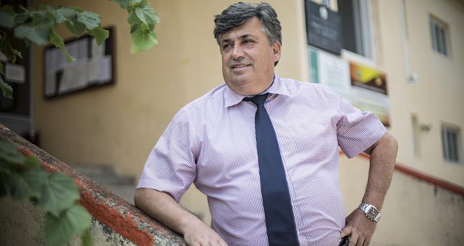 De burgemeester van de gemeente Makedonski Brod, Milosim Vojneski. Foto: Jodi Hilton