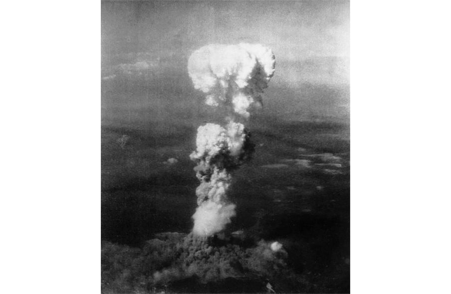 6 augustus 1945: de eerste atoombom op Hiroshima. Foto: Wikipedia