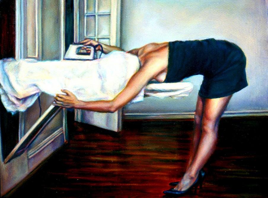 Untitled (Performance documentation) 2007, van kunstenares Ana Teresa Fernandes (Courtesy: Gallery Wendi Norris)