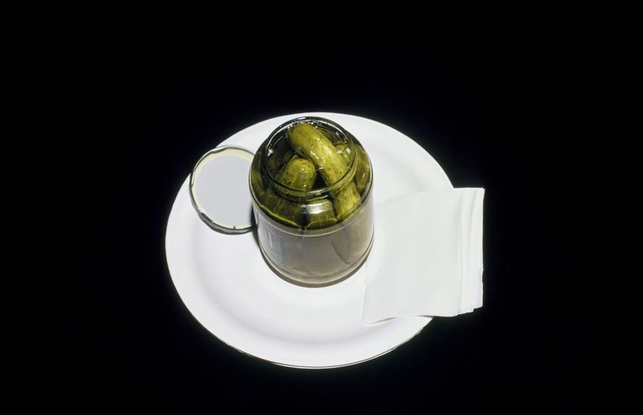 Uit de fotoserie 'Last Supper'. Een reconstructie van het laatste maal van Stacy Lawton, geëxecuteerd op 14 november 2000. Foto: Celia Shapiro/HH