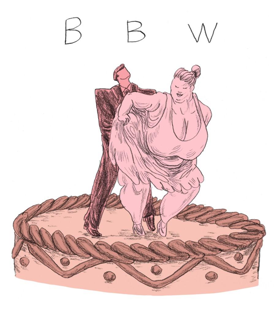 In Big Beautiful Women (BBW) zijn de dames een paar pondjes voller.