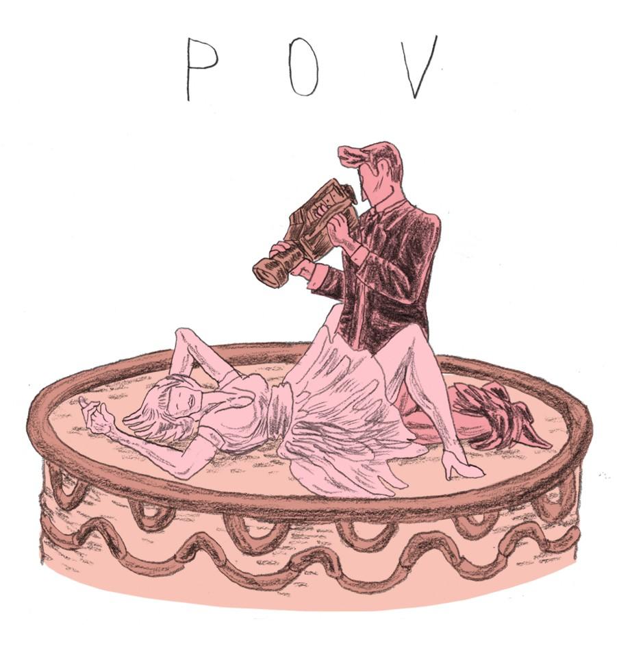 In Point of view (POV) zie je de seks vanuit het mannelijke standpunt.