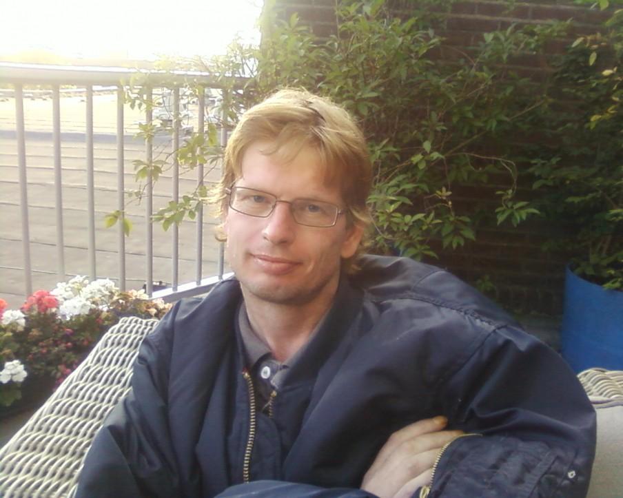 René Johannesma op de avond van 26 juni 2012. Foto: uit het album van familie Johannesma