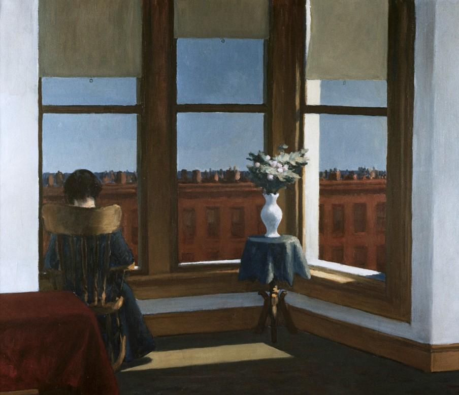 'Room in Brooklyn' (1932) door Edward Hopper. Beeld: HH