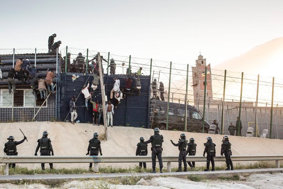 Barrio Chino, Melilla. April 2014. Foto: Hollandse Hoogte