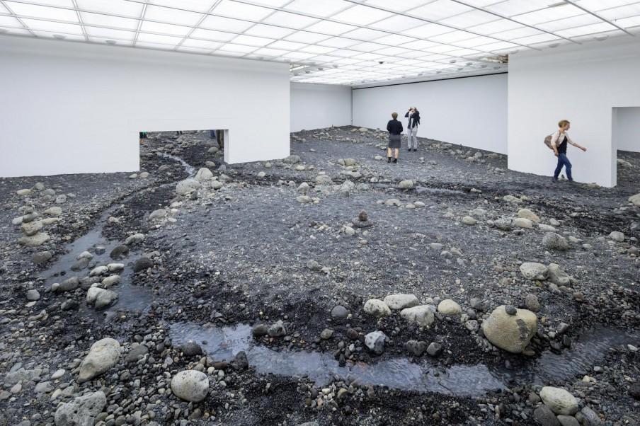 Olafur Eliasson, Riverbed (2014), Louisiana Museum of Modern Art, Kopenhagen