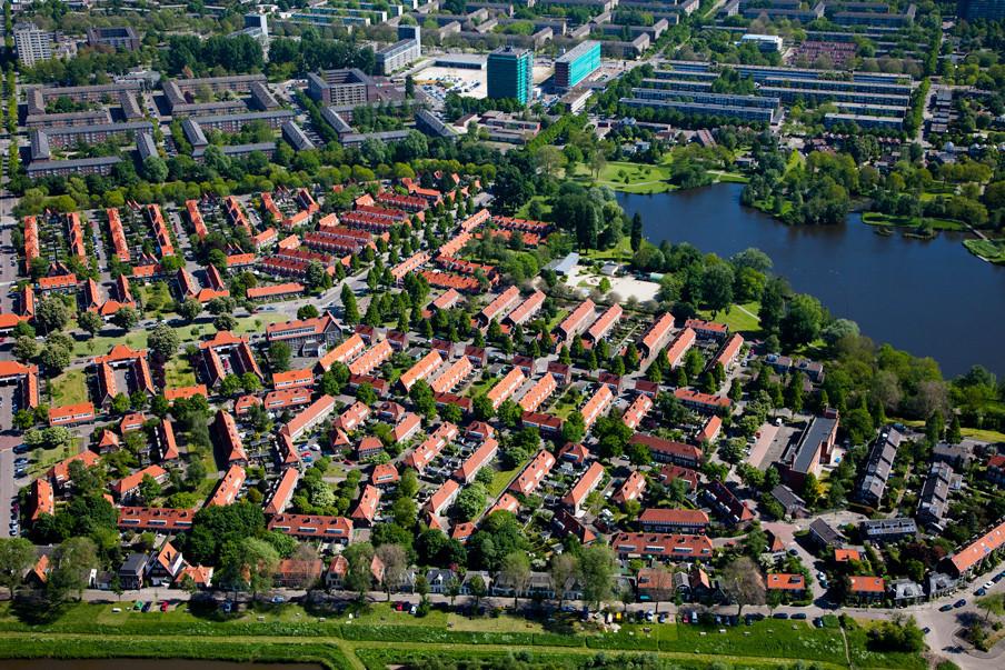 De wijk Tuindorp Nieuwendam in Amsterdam-Noord. Foto: Siebe Swart/Hollandse Hoogte