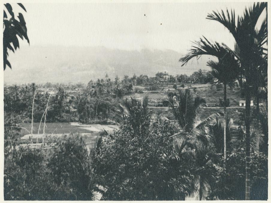 'Een prachtomgeving waar we overal langs kwamen. Mooie groenende bergen, de palmbomen, pisangs, alles werd nu ineens werkelijkheid. Toen ik dit alles zag, kreeg ik een indruk om de tropen nooit weer te verlaten,' schrijft Evert-Jan Nijboer in zijn dagboek