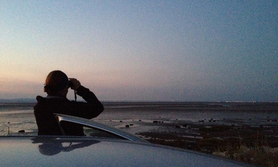 Op patrouille voor stropers voor schaaldieren aan de Engelse kust nabij Blackpool. Foto: The Black Fish