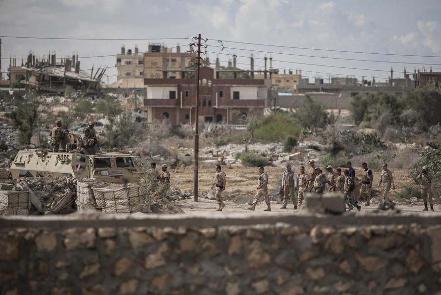 'Het leger ziet iedereen als een potentieel terrorist en pakt willekeurig mensen op.' Foto: Ali Hasan / Getty Images