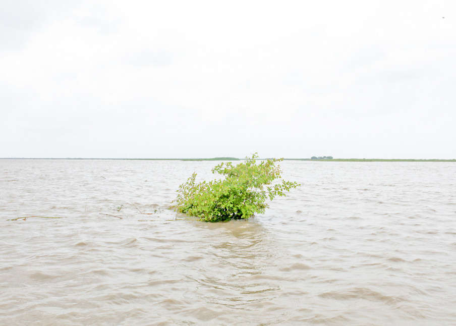 Langs de oever van de Jamunarivier in Bangladesh. Foto: Mohammad Rakibul / Hollandse Hoogte