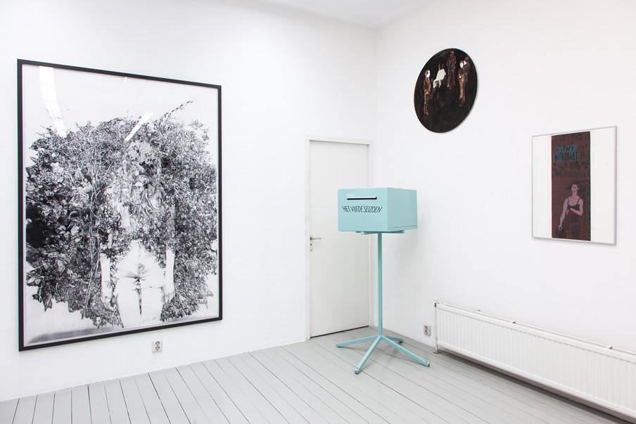 Anouk Griffioen, zonder titel, 2014. Frank Bloem, Een groet uit Den Dolder, 2010. Birgitt Derks, 15-12-04, 2004. Wally Elenbaas, Girl with hat, 1974. Foto: Konstantin Guz