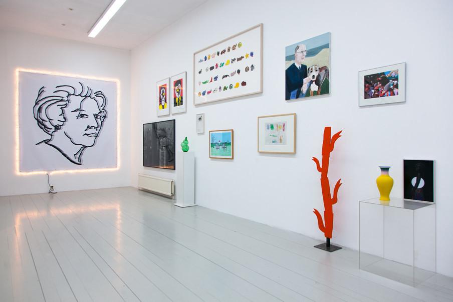 In de tentoonstelling 'VBCN 10 jaar jong', onderdeel van het tienjarig jubileum van de Vereniging Bedrijfscollecties Nederland. Foto: Konstantin Guz