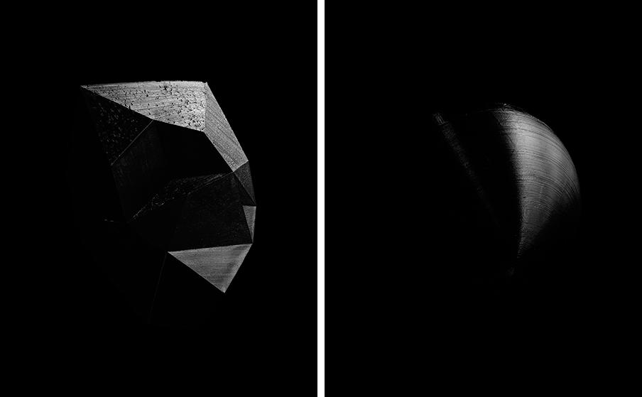 'Beyond Space' (links) en 'When World Collide' (rechts). © Daan Paans