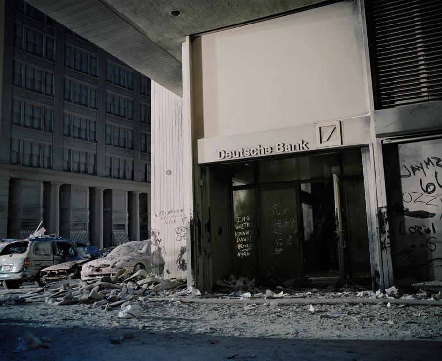 New York, Ground Zero, 11 september 2001. Foto: Frank Schwere / Getty