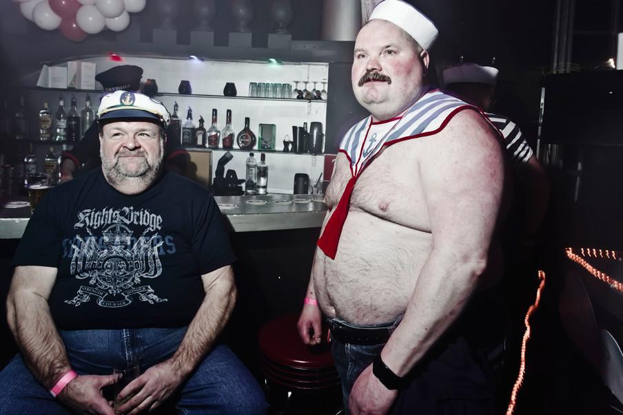 Het Hoerenbal 'The Love Boat Edition' tijdens oud en nieuw in Cruise Club CHURCH. Foto: Jan van Breda / ANP