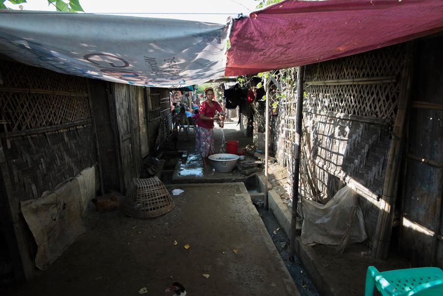 Het is vaak moeilijk in te schatten hoe ernstig de situatie in een vluchtelingenkamp is. Op het eerste oog ziet het leven er vaak redelijk gewoon uit. Foto: Andreas Stahl