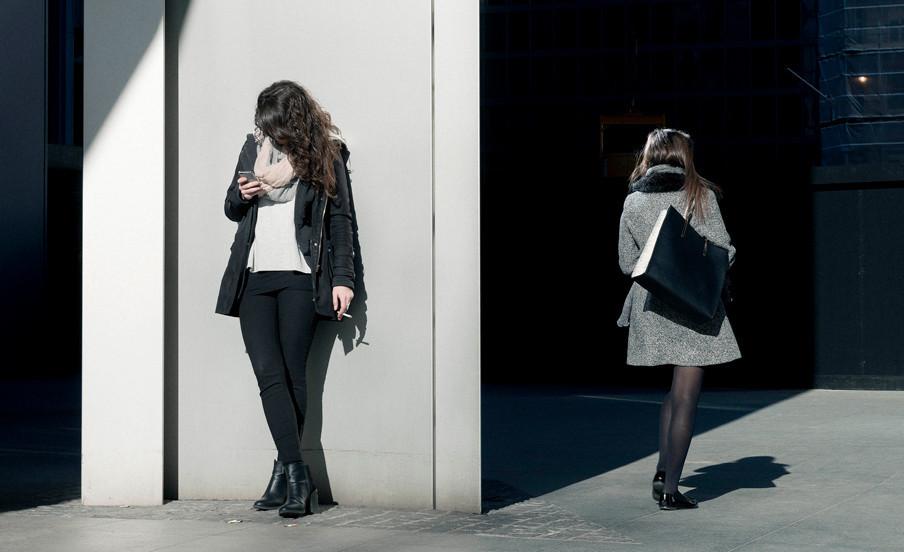 Uit het project 'In Company of Strangers'. © Bas Losekoot