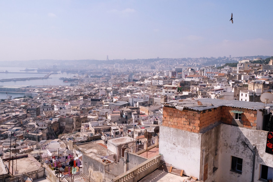De citadel in Algiers
