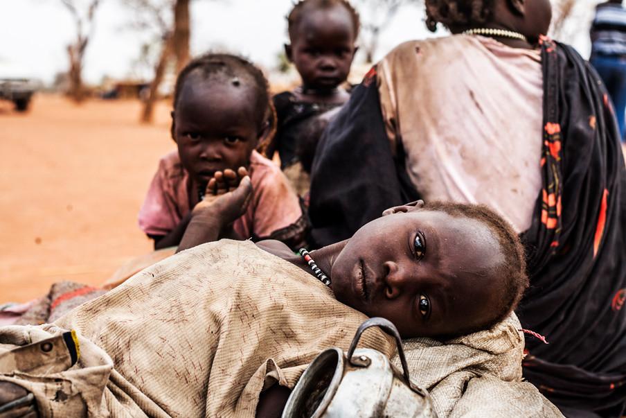 Soedanese vluchtelingen in Yida, Zuid-Soedan. (Maart 2015). Foto's: Andreas Stahl