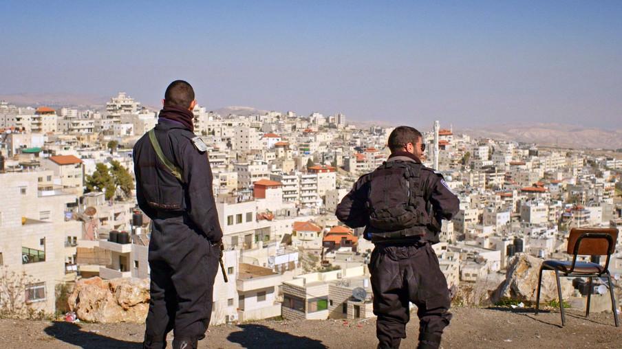 Uit de documentaire 'Staat van Paraatheid volgens Israël'