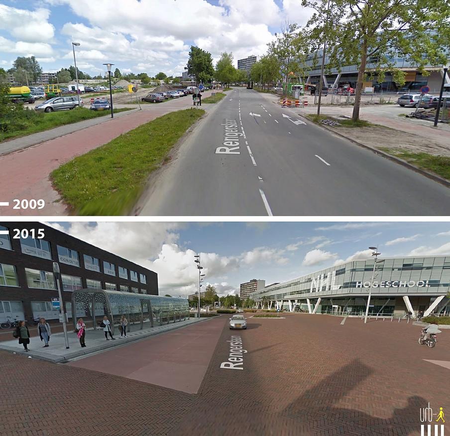 Rengerslaan, Leeuwarden. Foto: Urb-I / Google
