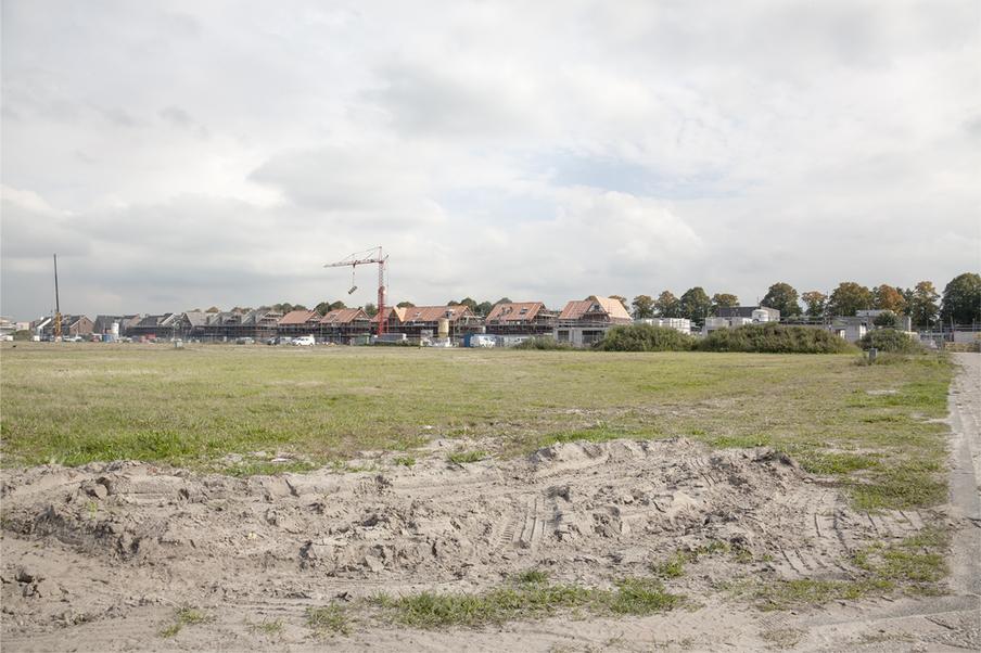 De nieuwe woonwijk van Jack Gommers. Foto: Anika Schwarzlose (voor De Correspondent)