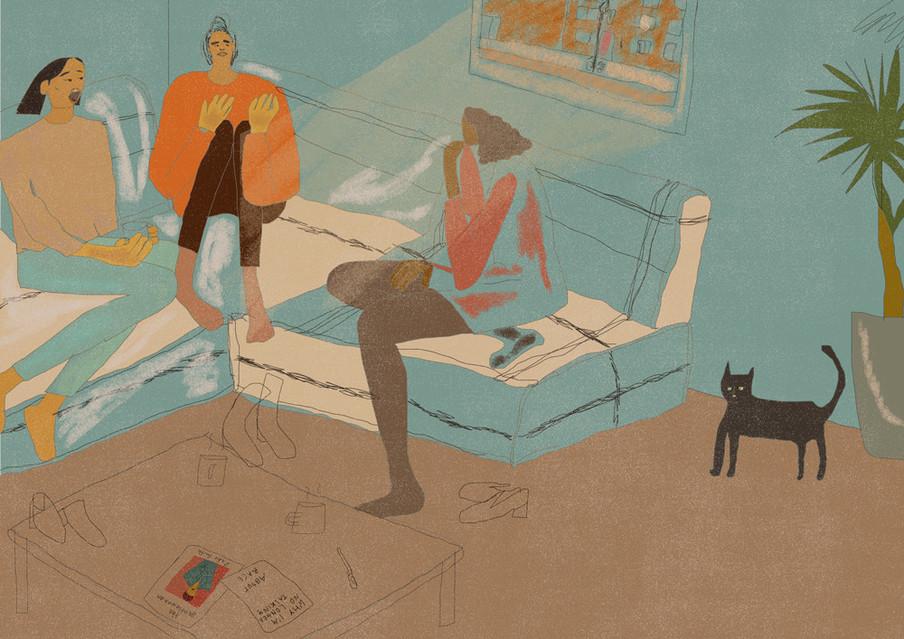 Illustratie: Hannah Buckman (voor De Correspondent)