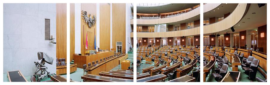 Oostenrijk, Nationalrat. Uit de serie Parliaments of the European Union door Nico Bick.
