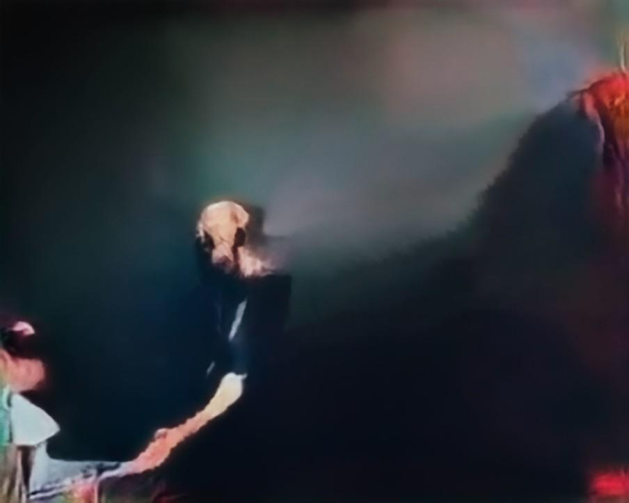 'Een man'. Beeld uit de serie Hallucinations door Trevor Paglen.