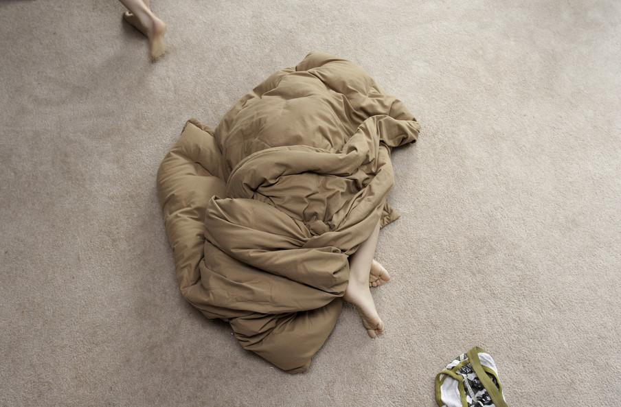 Uit de serie Home Life van kunstenaar Susanna Gaunt.