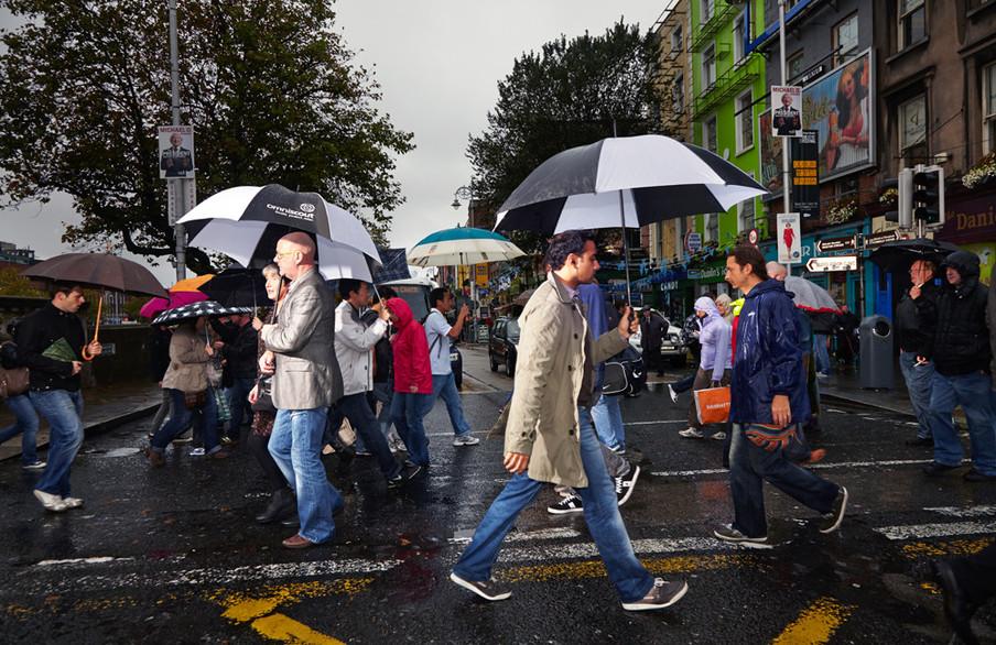 Dublin, Ierland. Uit de serie 'Crossing Europe' van Poike Stomps.