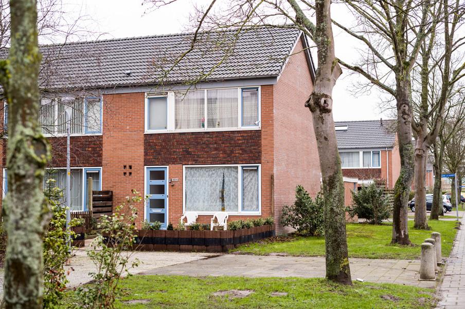 De wijk Graan voor Visch in Hoofddorp. Foto: Boudewijn Bollmann (voor De Correspondent)