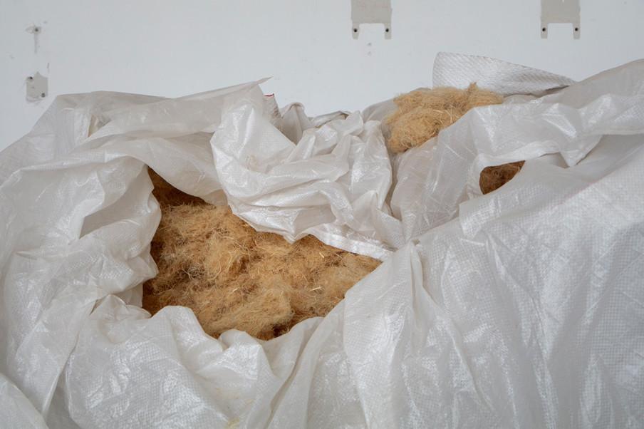 Hennepproducent Dun Agro levert de vezels aan Stexfibers. Foto: Anoek Steketee (voor De Correspondent)